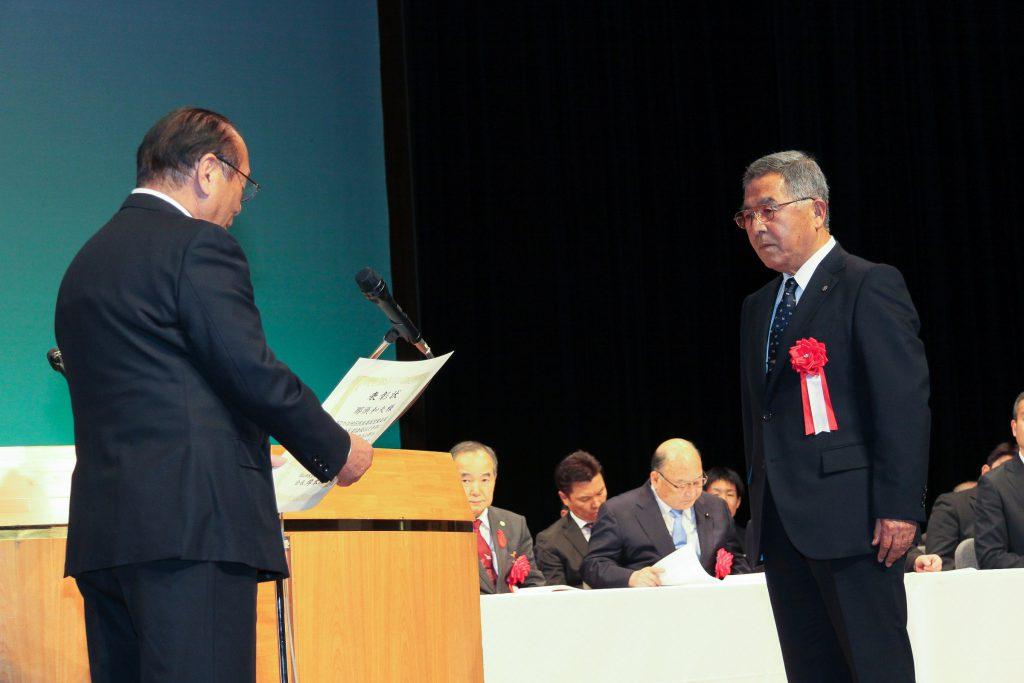 岡山市民生委員児童委員協議会会長表彰代表受賞